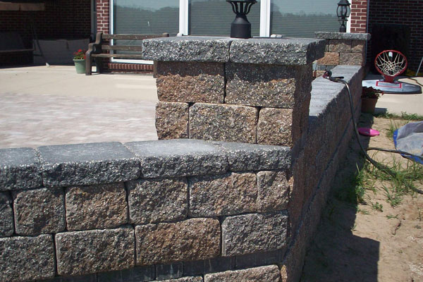 Stone Patio Delivery Independence