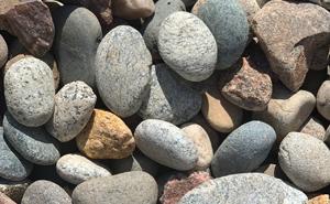 decorative rock, landscape, gravel