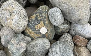decorative rock, landscaping, gravel