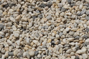 Arkansas White Rock, decorative gravel, landscaping