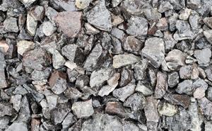 Black Obsidian, decorative rock, landscape